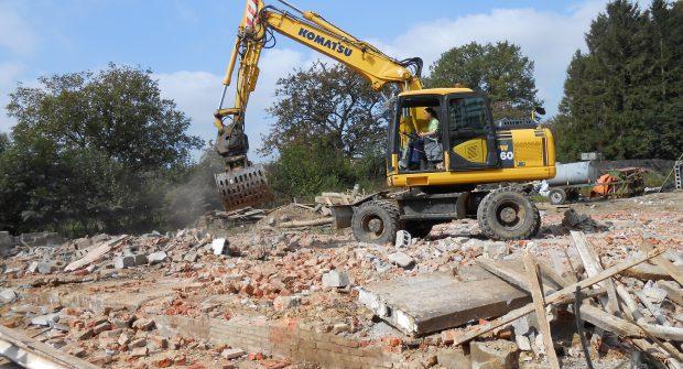 bouwrijp maken bouwterrein afbraakwerken 1