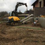 Bogaarden betonnen prefab trap niveauverschil oplossen - Massaert bvba