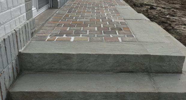 Gooik traptreden natuursteen Kandla trapblokken