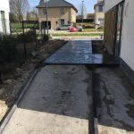 Terras met gepolierde beton - Massaert bvba