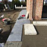 Meise terras keramische tegels funderingswerk terras 3 - Massaert bvba