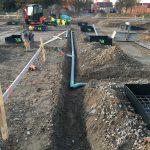 Melle rioleringswerken aanleg basisschool en turnzaal_0246 - Massaert bvba