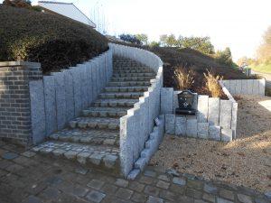 Vlezenbeek palissade graniet