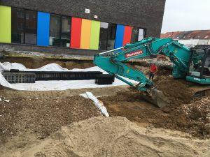 aanleg infiltratiekratten Sint-Pieters-Leeuw verkaveling_4040 2