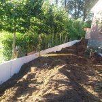 plaatsing keerwanden l-profielen tuin Vlezenbeek_0685 - Massaert bvba