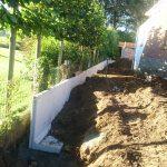 plaatsing keerwanden l-profielen tuin Vlezenbeek_0687 - Massaert bvba