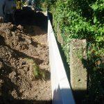 plaatsing keerwanden l-profielen tuin Vlezenbeek_0695 - Massaert bvba