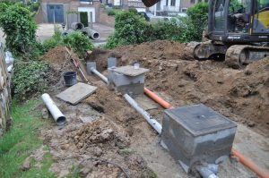 project gescheiden riolering afvoer RWA DWA Dilbeek regenwaterput_0583