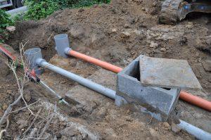 project gescheiden riolering afvoer RWA DWA Dilbeek regenwaterput_0584