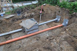 project gescheiden riolering afvoer RWA DWA Dilbeek regenwaterput_0590