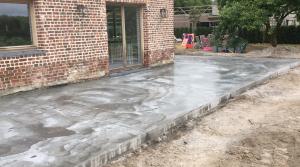 terras gepolierd beton Vlezenbeek