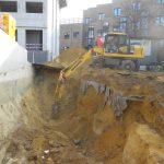 uitgraven bouwput Sint-Stevens - Woluwe - Massaert bvba