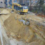 uitgraven bouwput Sint-Stevens-Woluwe hotel - Massaert bvba