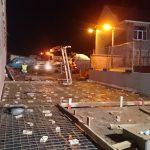 voorbereiding storten gewapend beton gepolierd basisschool Gooik wapeningsnetten bekisting - Massaert bvba