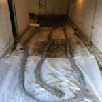drainage garage nieuwe gepolierd beton - Massaert bvba