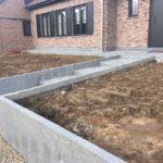 aanleg buitentrap pad voordeur kassei terras oprit grind 10 - Massaert bvba