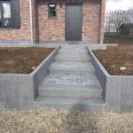 aanleg buitentrap pad voordeur kassei terras oprit grind 13 - Massaert bvba