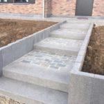 aanleg buitentrap pad voordeur kassei terras oprit grind 14 - Massaert bvba