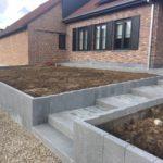 aanleg buitentrap pad voordeur kassei terras oprit grind 15 - Massaert bvba