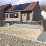 aanleg buitentrap pad voordeur kassei terras oprit grind stabilisatiematten Vlezenbeek - Massaert bvba