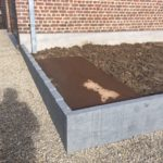aanleg buitentrap pad voordeur kassei terras oprit grind stabilisatiematten Vlezenbeek0 - Massaert bvba