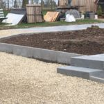 aanleg buitentrap pad voordeur kassei terras oprit grind stabilisatiematten Vlezenbeek8 - Massaert bvba