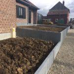 aanleg buitentrap pad voordeur kassei terras oprit grind stabilisatiematten Vlezenbeekaanleg buitentrap pad voordeur kassei terras oprit grind stabilisatiematten Vlezenbeek - Massaert bvba