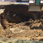 Melle rioleringswerken aanleg basisschool en turnzaal_mei 2020-22 - Massaert bvba