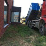 aanleg gangpad rond villa en terras keramische tegels Cimenti Midnight 80x80 Sint-Pieters-Leeuw_0952 - Massaert bvba