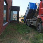 aanleg gangpad rond villa en terras keramische tegels Cimenti Midnight 80x80 Sint-Pieters-Leeuw_0953 - Massaert bvba