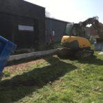 aanleg gangpad rond villa en terras keramische tegels Cimenti Midnight 80x80 Sint-Pieters-Leeuw_0954 - Massaert bvba
