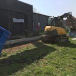 aanleg gangpad rond villa en terras keramische tegels Cimenti Midnight 80x80 Sint-Pieters-Leeuw_0955 - Massaert bvba