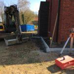 aanleg gangpad rond villa en terras keramische tegels Cimenti Midnight 80x80 Sint-Pieters-Leeuw_0977 - Massaert bvba