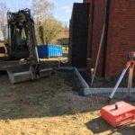 aanleg gangpad rond villa en terras keramische tegels Cimenti Midnight 80x80 Sint-Pieters-Leeuw_0978 - Massaert bvba