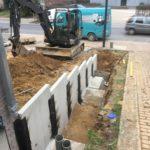 aanleg gescheiden rioleringsstelsel Vlezenbeek met infiltratieput hemelwaterput septische put_0745 - Massaert bvba