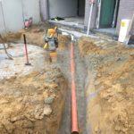 aanleg gescheiden rioleringsstelsel Vlezenbeek met infiltratieput hemelwaterput septische put_0747 - Massaert bvba