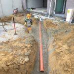 aanleg gescheiden rioleringsstelsel Vlezenbeek met infiltratieput hemelwaterput septische put_0748 - Massaert bvba