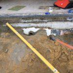 aanleg gescheiden rioleringsstelsel Vlezenbeek met infiltratieput hemelwaterput septische put_0749 - Massaert bvba