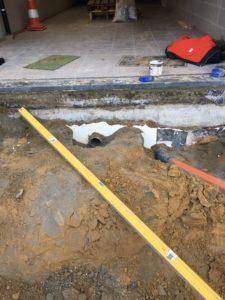 aanleg gescheiden rioleringsstelsel Vlezenbeek met infiltratieput hemelwaterput septische put_0749