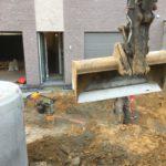 aanleg gescheiden rioleringsstelsel Vlezenbeek met infiltratieput hemelwaterput septische put_0751 - Massaert bvba