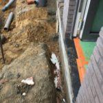 aanleg gescheiden rioleringsstelsel Vlezenbeek met infiltratieput hemelwaterput septische put_0756 - Massaert bvba