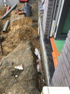 aanleg gescheiden rioleringsstelsel Vlezenbeek met infiltratieput hemelwaterput septische put_0756