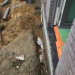 aanleg gescheiden rioleringsstelsel Vlezenbeek met infiltratieput hemelwaterput septische put_0757 - Massaert bvba