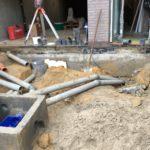 aanleg gescheiden rioleringsstelsel Vlezenbeek met infiltratieput hemelwaterput septische put_0760 - Massaert bvba