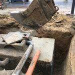 aanleg gescheiden rioleringsstelsel Vlezenbeek met infiltratieput hemelwaterput septische put_0764 - Massaert bvba