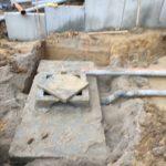 aanleg gescheiden rioleringsstelsel Vlezenbeek met infiltratieput hemelwaterput septische put_0766 - Massaert bvba