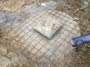 aanleg gescheiden rioleringsstelsel Vlezenbeek met infiltratieput hemelwaterput septische put_0769