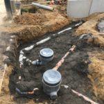 aanleg gescheiden rioleringsstelsel Vlezenbeek met infiltratieput hemelwaterput septische put_0773 - Massaert bvba
