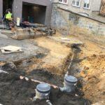 aanleg gescheiden rioleringsstelsel Vlezenbeek met infiltratieput hemelwaterput septische put_0774 - Massaert bvba