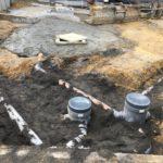 aanleg gescheiden rioleringsstelsel Vlezenbeek met infiltratieput hemelwaterput septische put_0775 - Massaert bvba